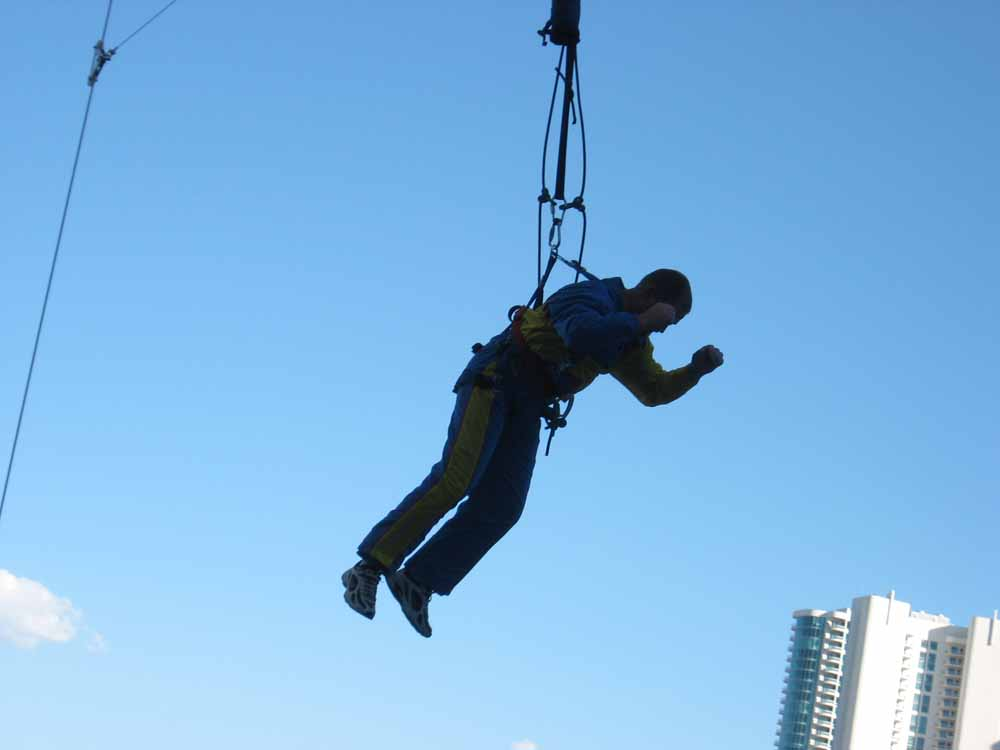 Sky Jump at Stratosphere