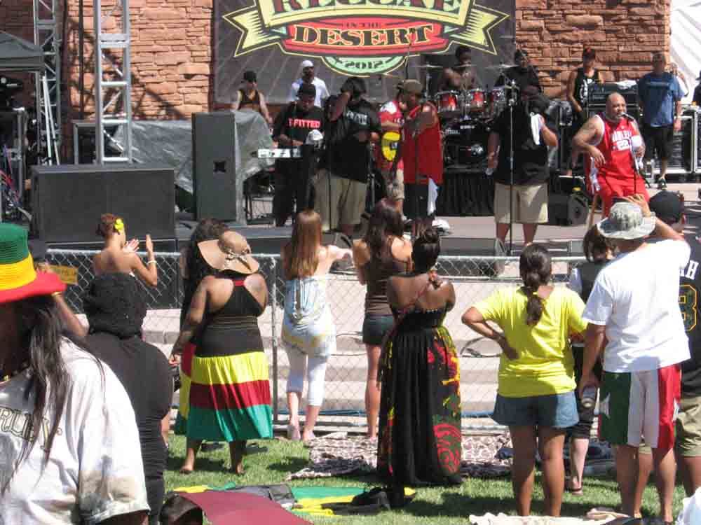 Reggae Festival 2012 in Las Vegas